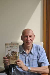 "Norman H Reid, author of ""Alexander III, first among equals"" at the Strathmartine Centre 21 August 2019"